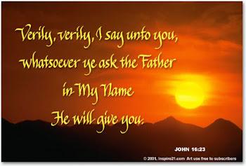 วันเสาร์ สัปดาห์ที่ 6 เทศกาลปัสกา: ผ่านทางพระเยซูเจ้า