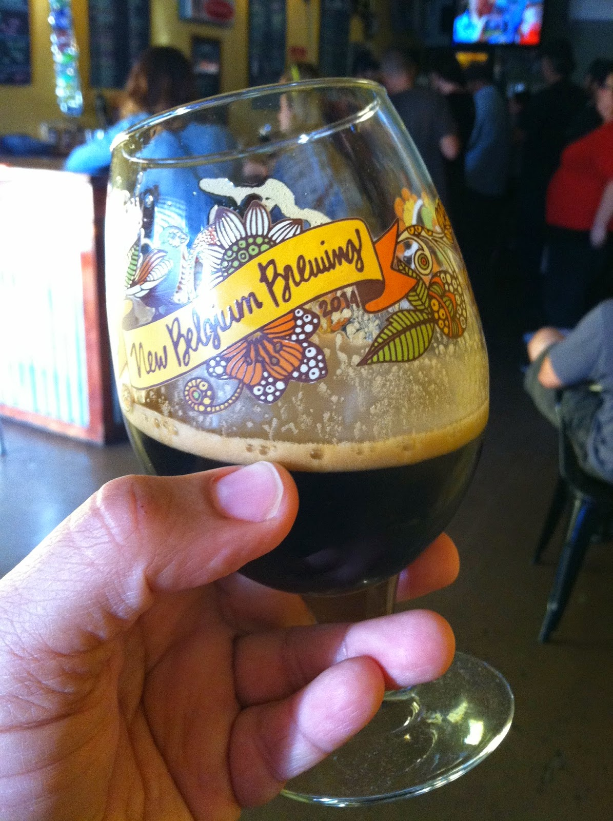 New Belgium Salted Belgian Chocolate Stout 1