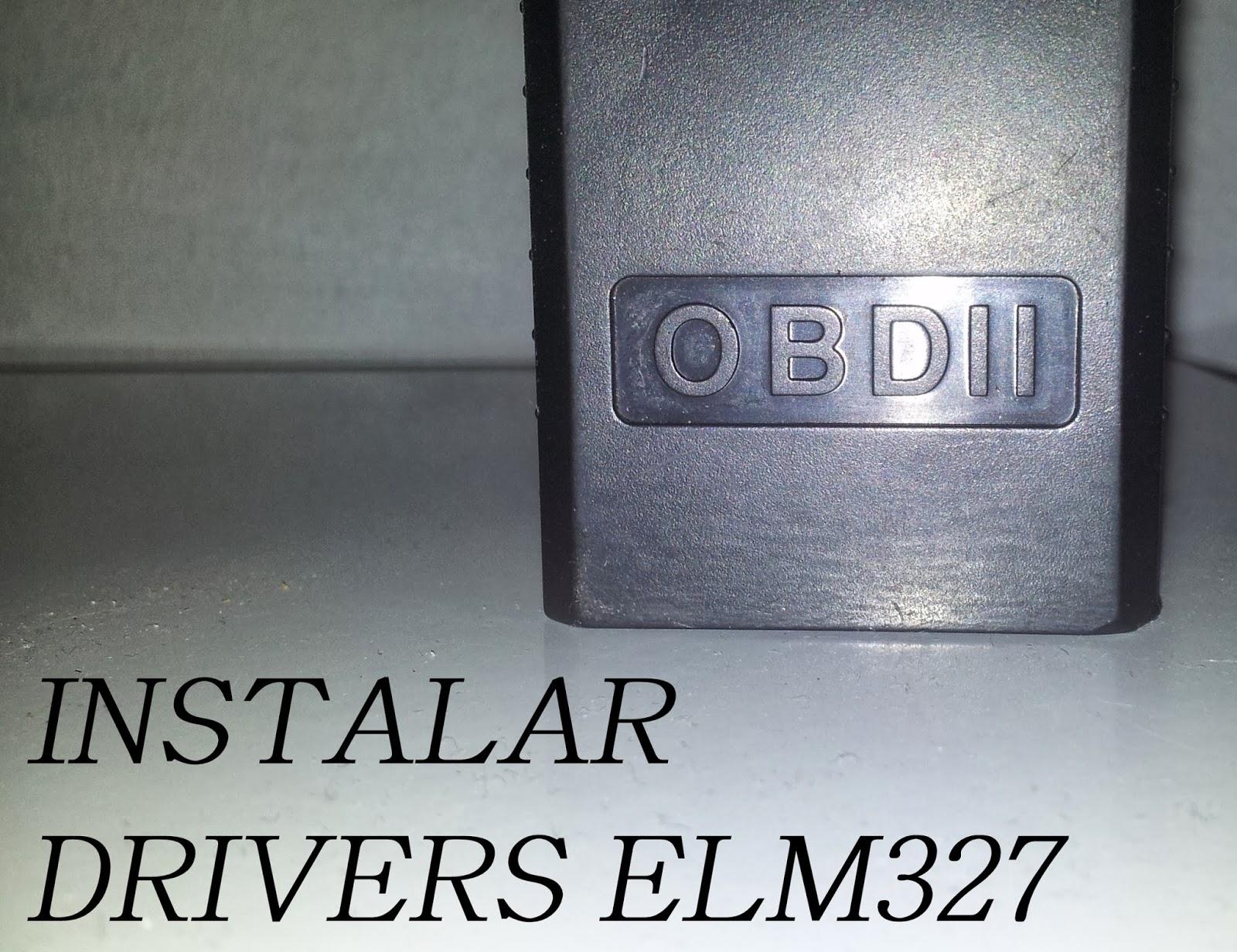 ELM327, Problemas de instalación y drivers |