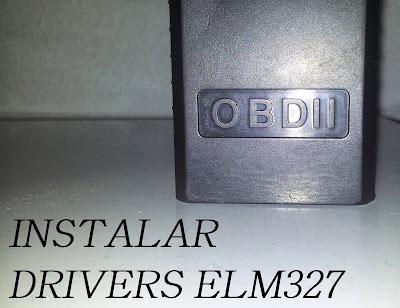 instalar cable obd2 elm327