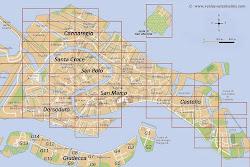 Plan interactif de Venise