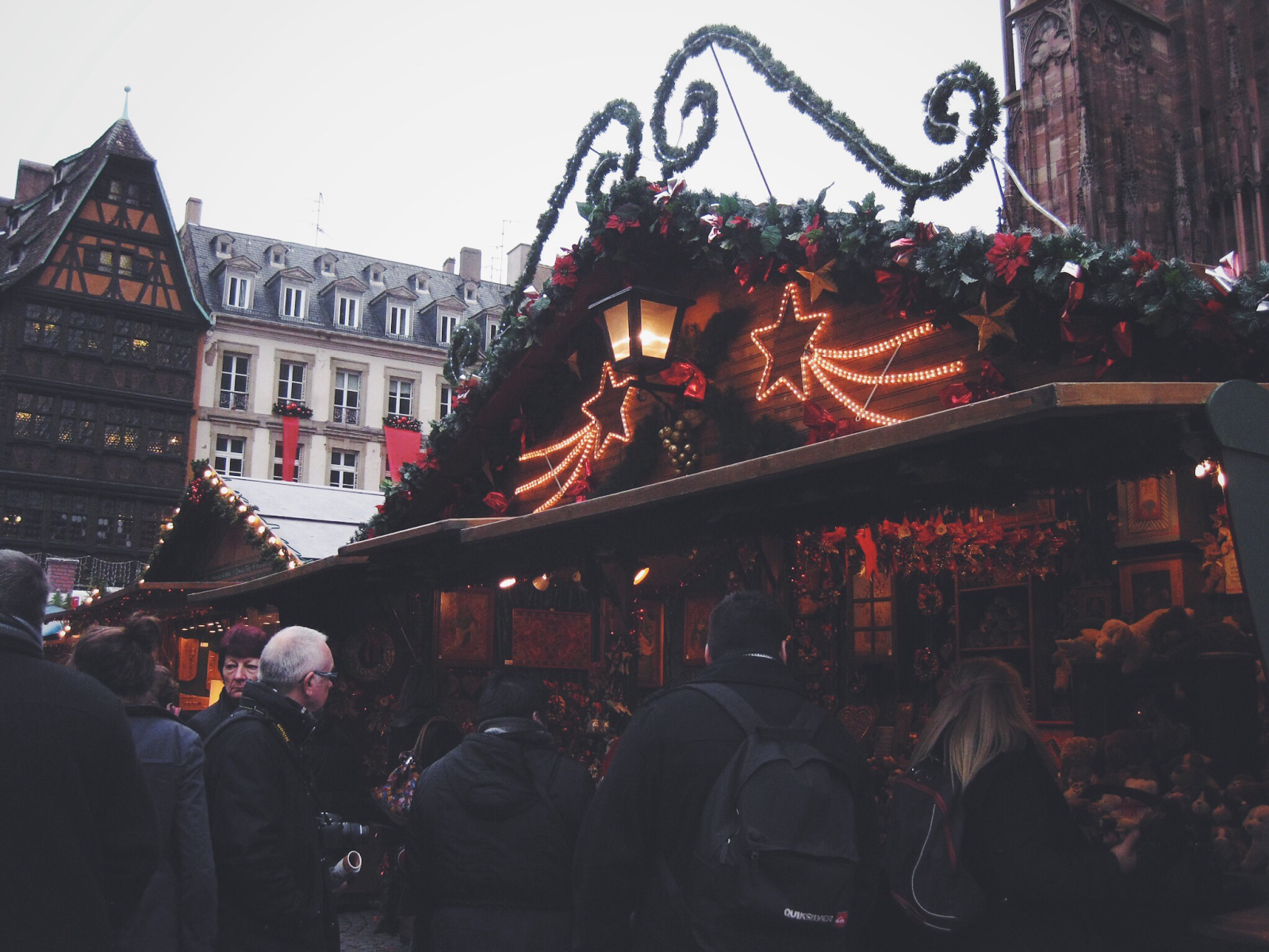 Strasbourg, Christmas Market, Europe, Travel, Bramble and Thorn, Christmas Lights, Christmas Tree, Winter