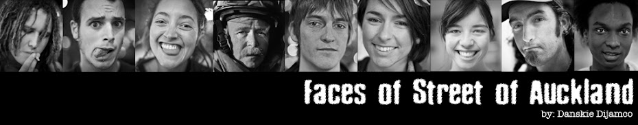 Faces of Street of Auckland