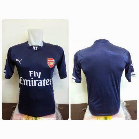 gambar jersey arsenal away terbaru musim depan 2015/2016 kualitas grade ori made in thailand harga murah kualtias grade ori tahundepan berikutnya 2016 2017