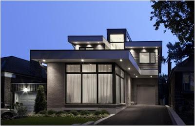 Huisontwerp: moderne huisontwerp ideeën buitenkant