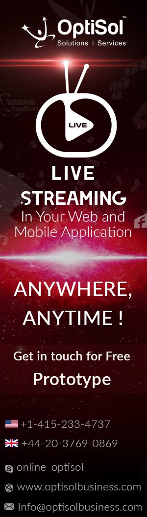 Live Video Streaming App Developer