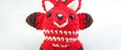 Amigurumi fox crochet pattern by the sun and the Turtle