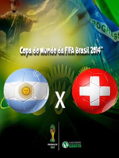 Argentina x Suica Oitavas de Final Copa do Mundo 2014