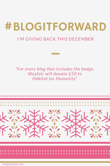 Giving Back This December with #BlogitForward | Morgan's Milieu: Are you going to #BlogitForward this December?