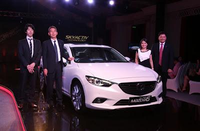 Mobil All-New Mazda6 Resmi Diluncurkan