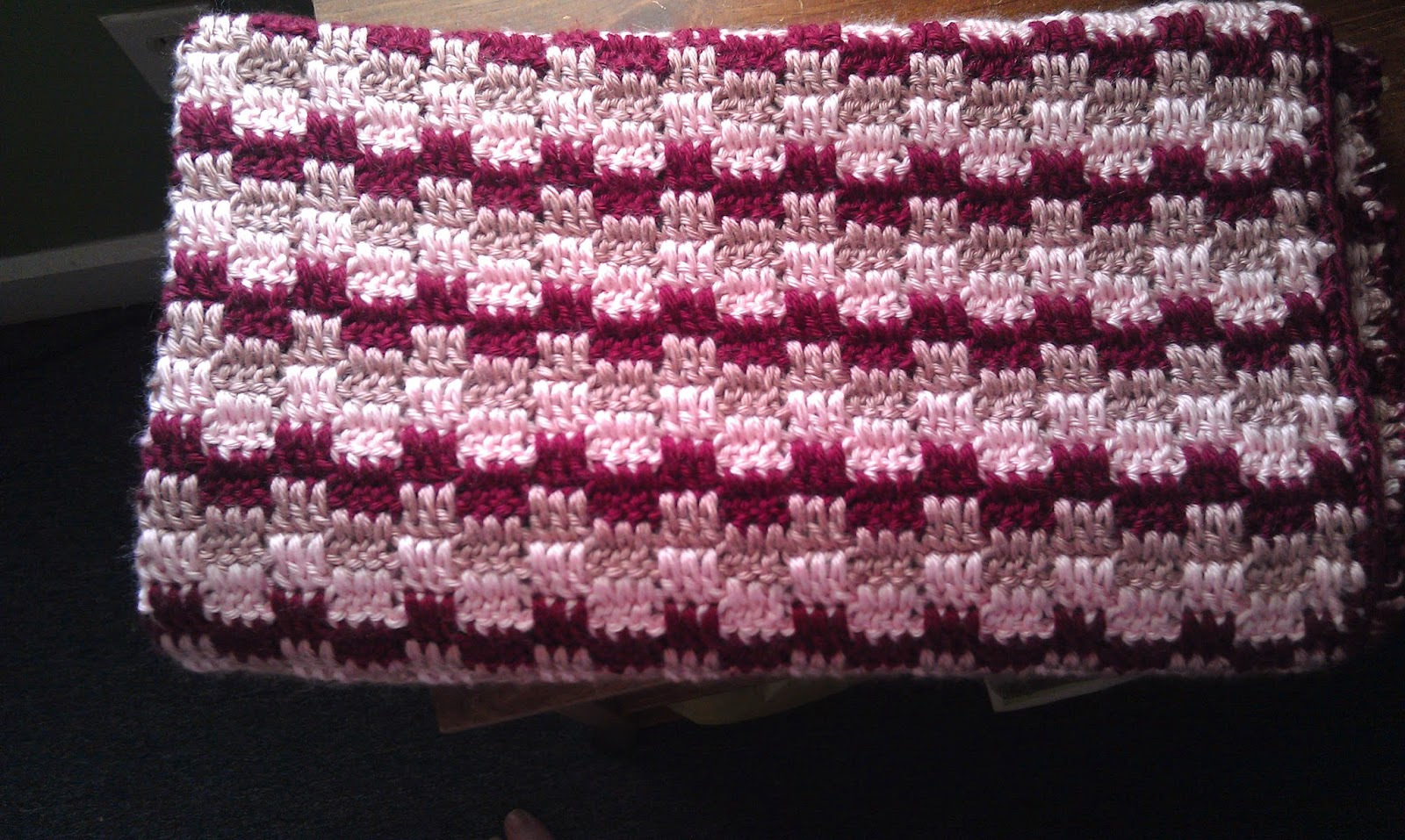 Block Party Crochet Baby Blanket