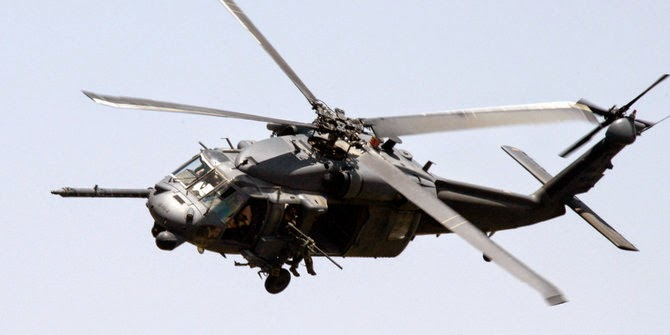 Helikopter tempur Black Hawk AS jatuh, 11 tentara hilang