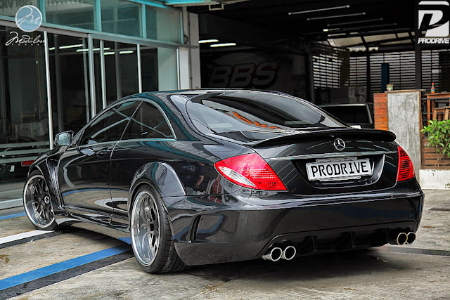 mercedes cl body kit