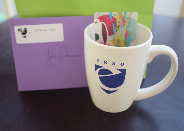 It's the Little Things - Emerson College mug | Pennies & Paper Blog