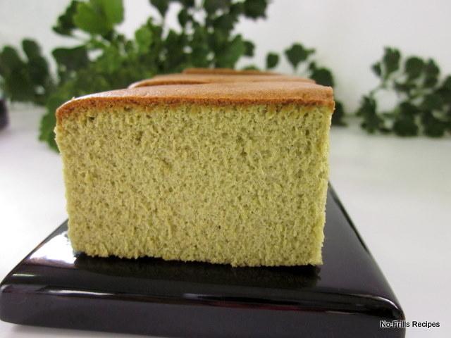 Matcha Green Tea Castella