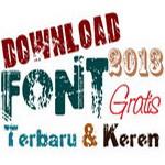 kumpulan font keren 2013