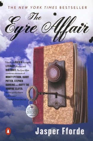 Best Bibliomystery Books List The Eyre Affair by Jasper Fforde