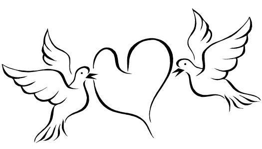 Dibujo de Amor para colorear
