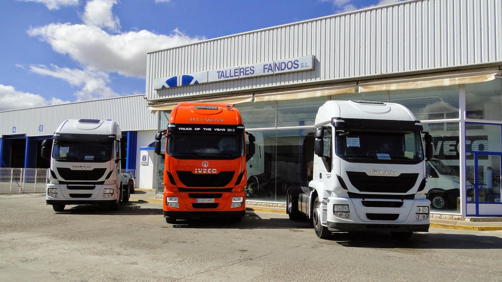 Iveco ha matriculado durante el primer semestre del año 1.085 camiones pesados.