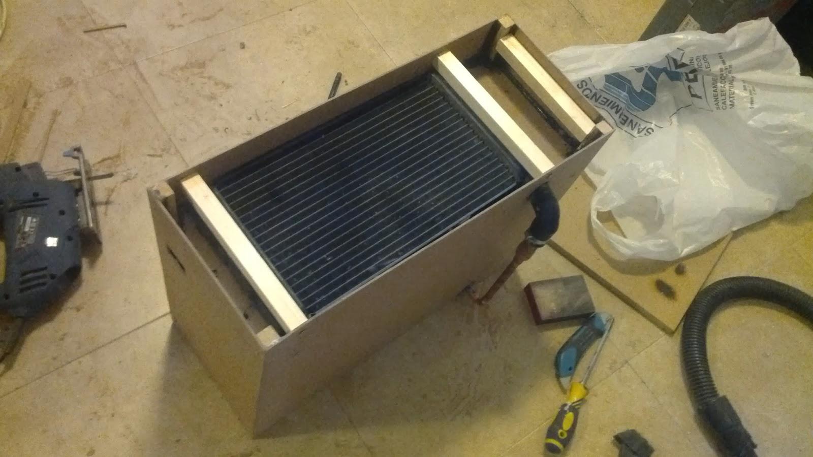 Aicanduit calefacci n solar de bajo coste construyendo - Radiador agua calefaccion ...