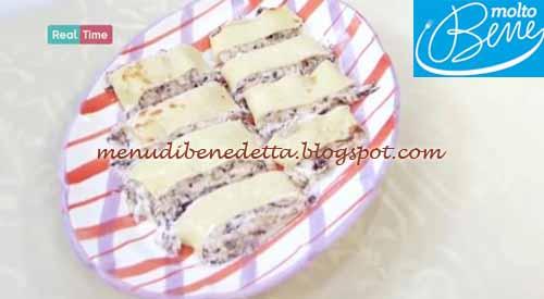 Rotolo radicchio e formaggio ricetta Parodi per Molto Bene