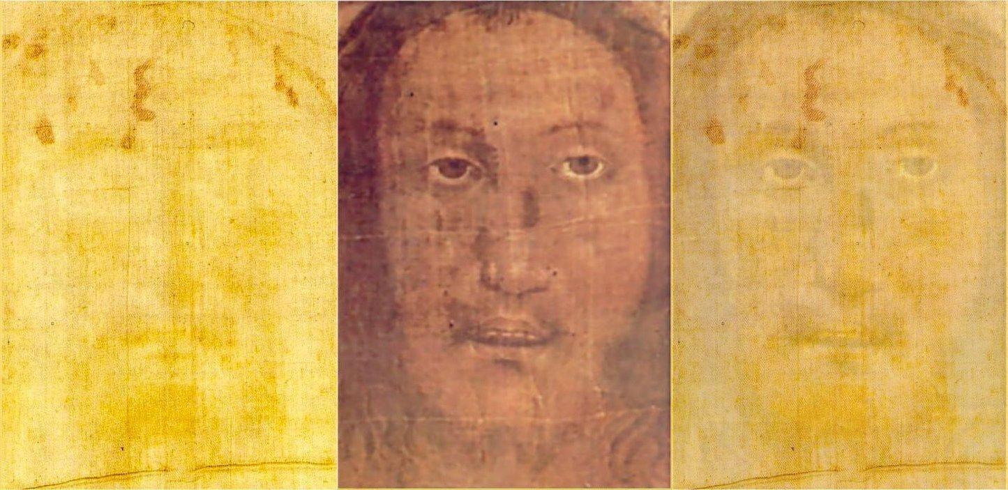 Volto Santo di Manoppello perfettamente sovrapponibile alla Sacra Sindone