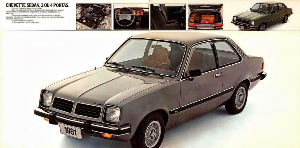 Cr nicas automotoras hist ria do chevette 1981 for Chevette 4 portas