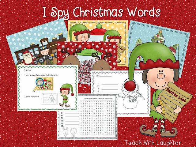 http://www.teacherspayteachers.com/Product/I-Spy-Christmas-Words-410923