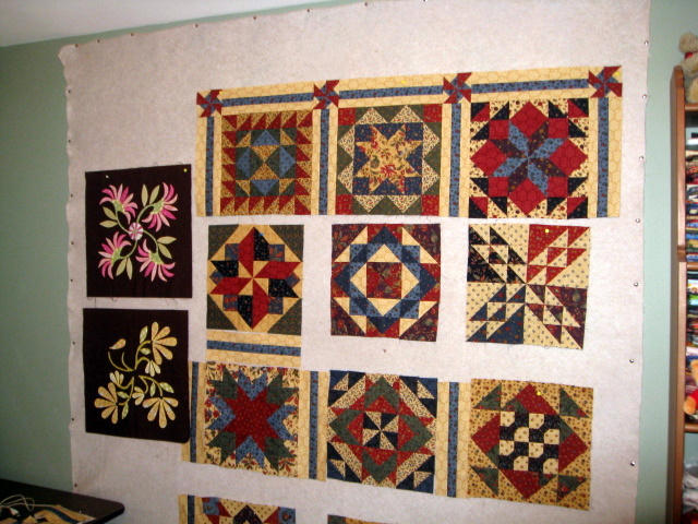 Lakeside Quilting Design Wall Monday