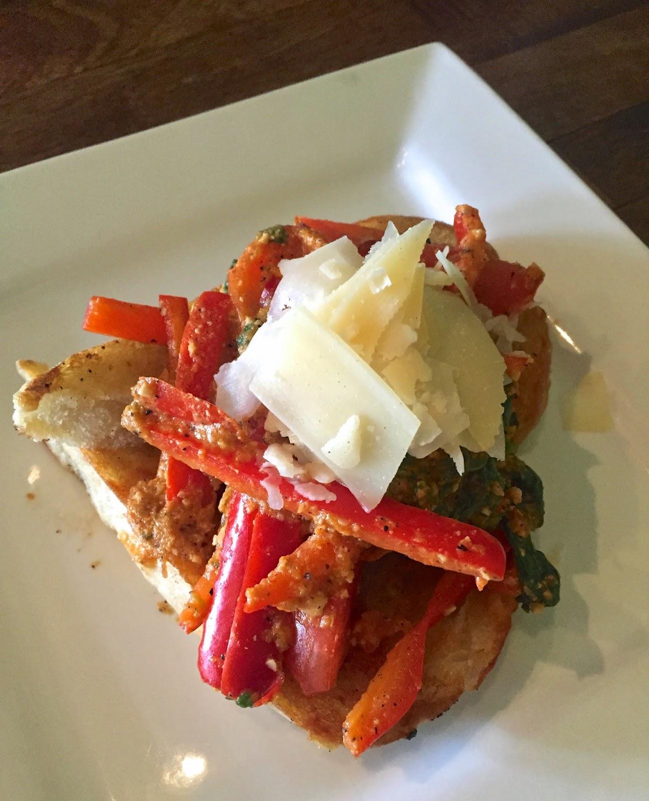 Fern Bruschetta Appetizer - Fern, Flavors from the Garden