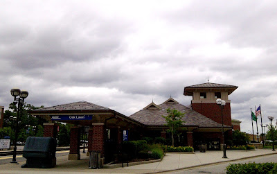 photo of Oak Lawn METRA Train Station