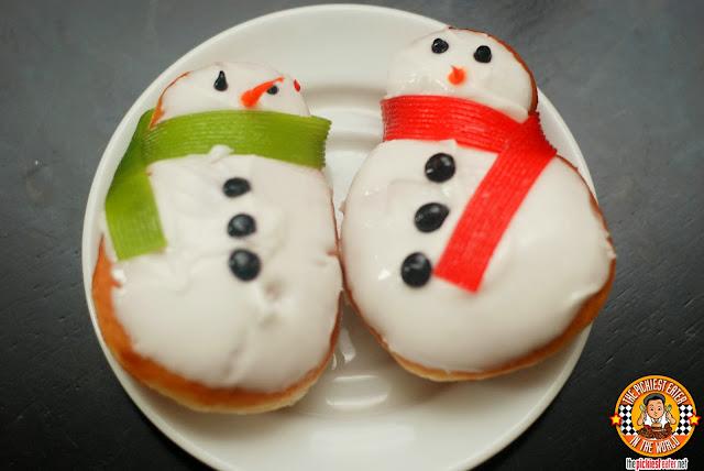 krispy kreme snowman donuts