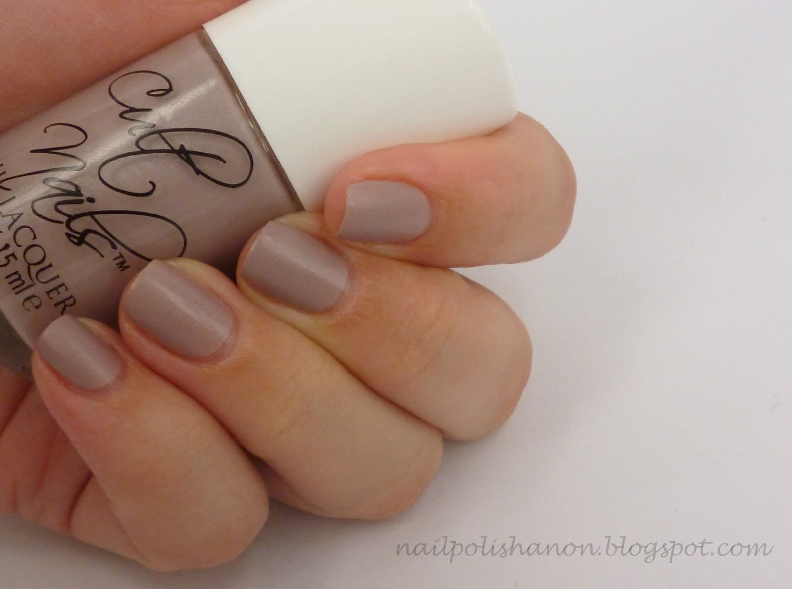 Nail Polish Anon: Cult Nails In The Garden Wax Finish Swatches