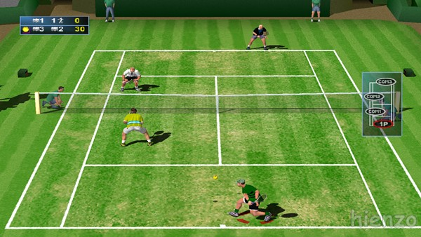 Agassi Tennis Generation PC Gameplay