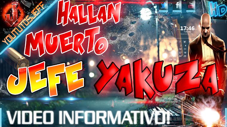 HALLAN MUERTO A JEFE DE LA MAFIA YAKUZA 2015