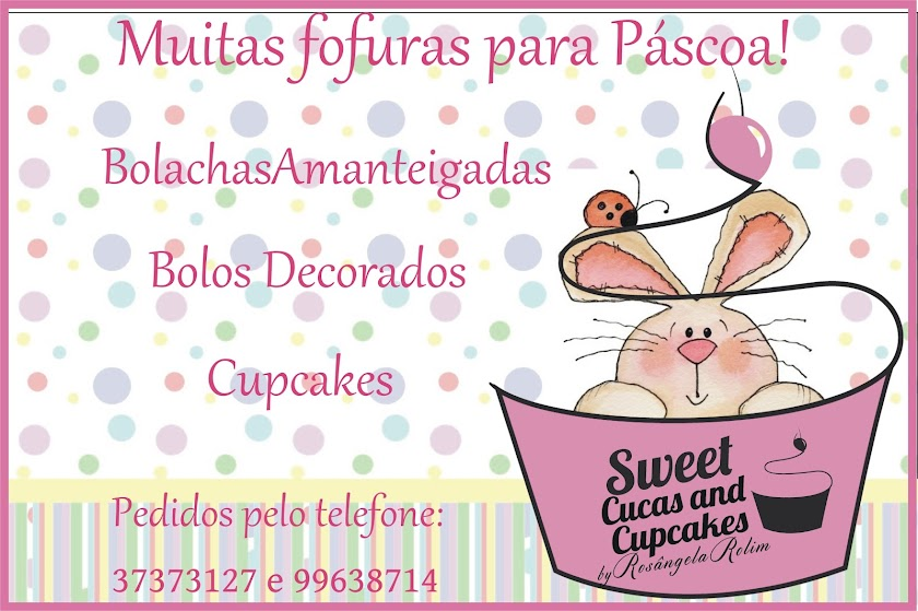 Sweet Cucas and Cupcakes by Rosângela Rolim