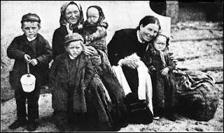Emigrantes irlandeses a finales del siglo XIX