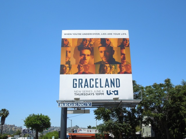 Graceland season 1 billboard