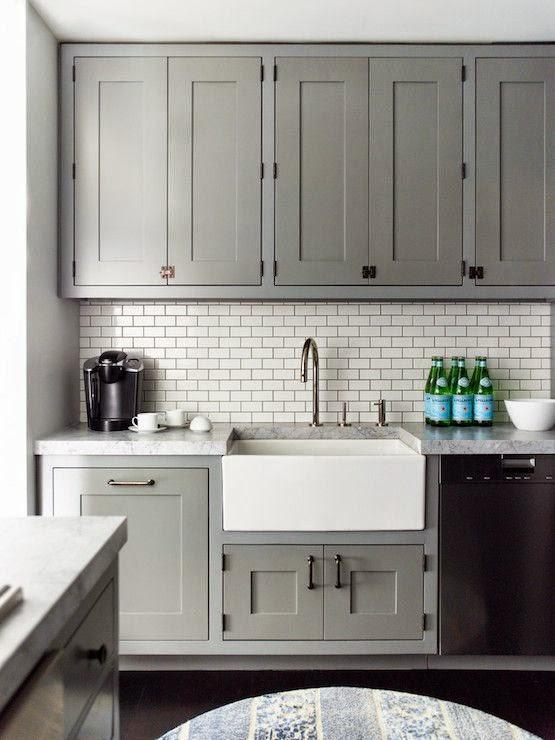 Pewter Kitchen Cabinets - Kitchen Design Ideas