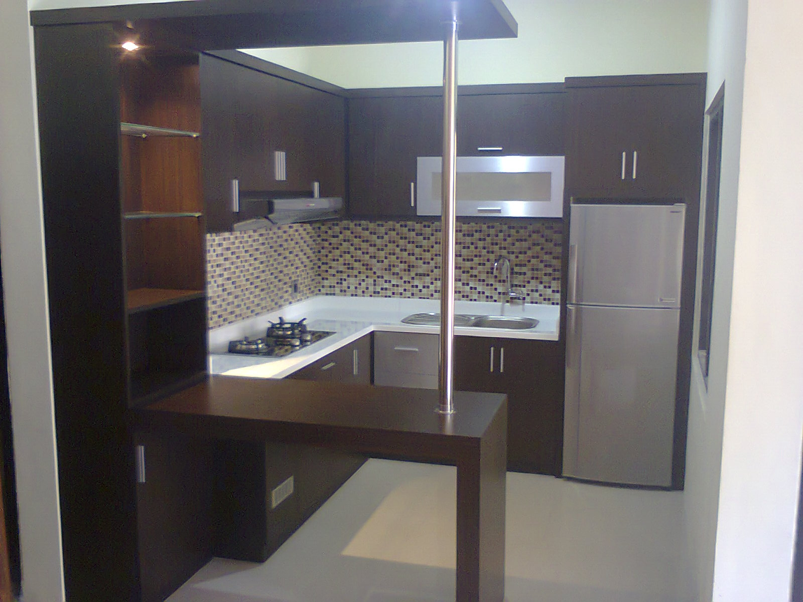 Tips memilih kitchen set untuk rumah minimalis model for Kitchen minimalis