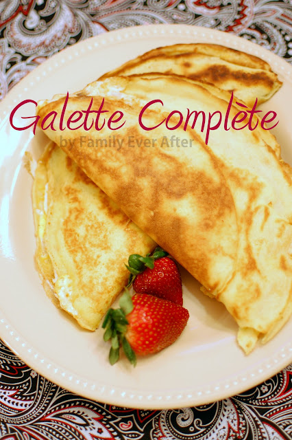 french dinner crepes