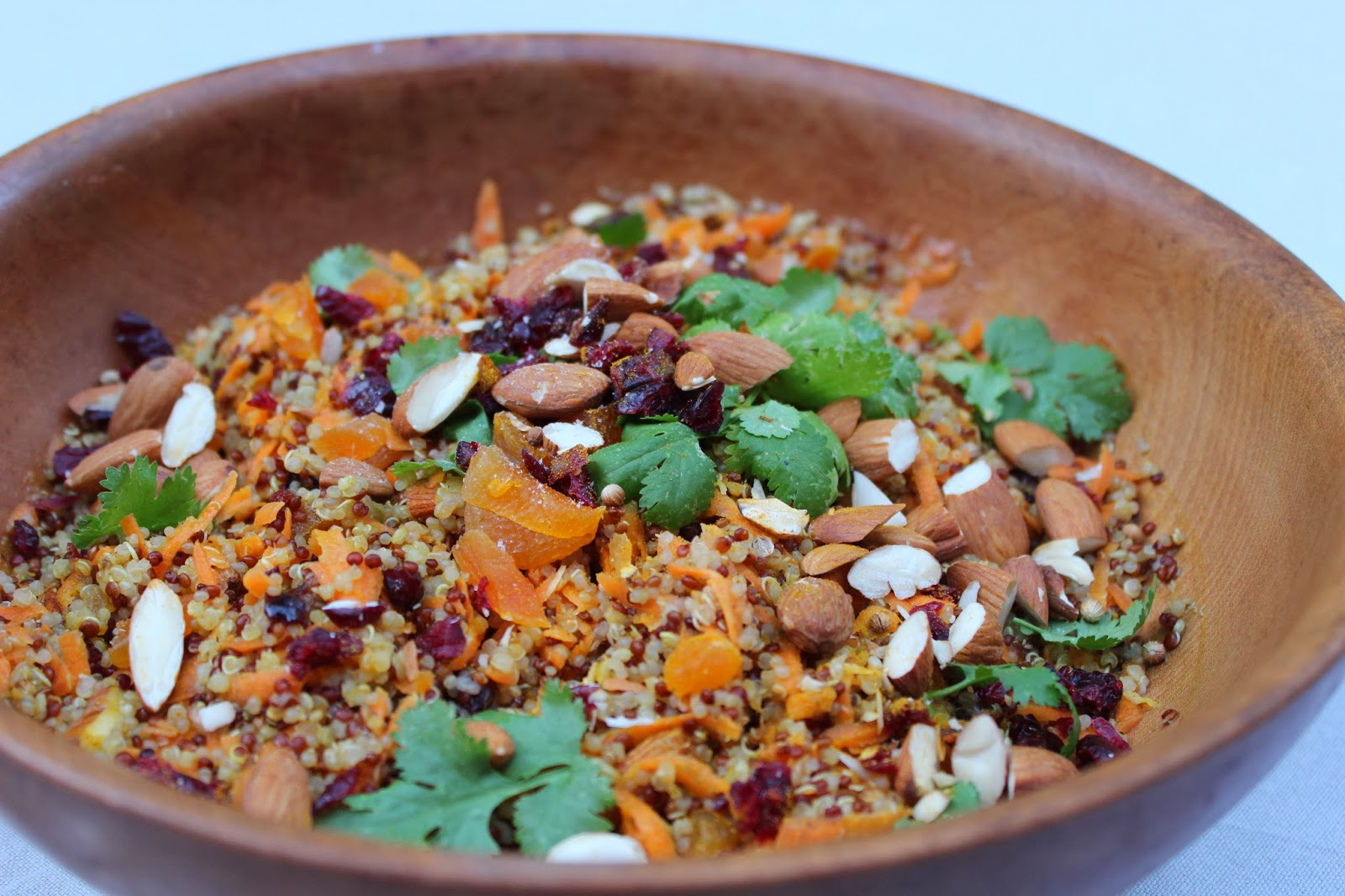 ... Recipes By The Healthy French Wife. : Healthy Moroccan Quinoa Salad