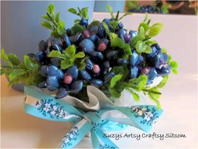 food gifts: vintage bouquet tutorial