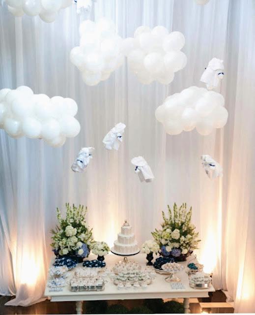mesa+ursinhos Batizado do Bê por Rachel Ramos