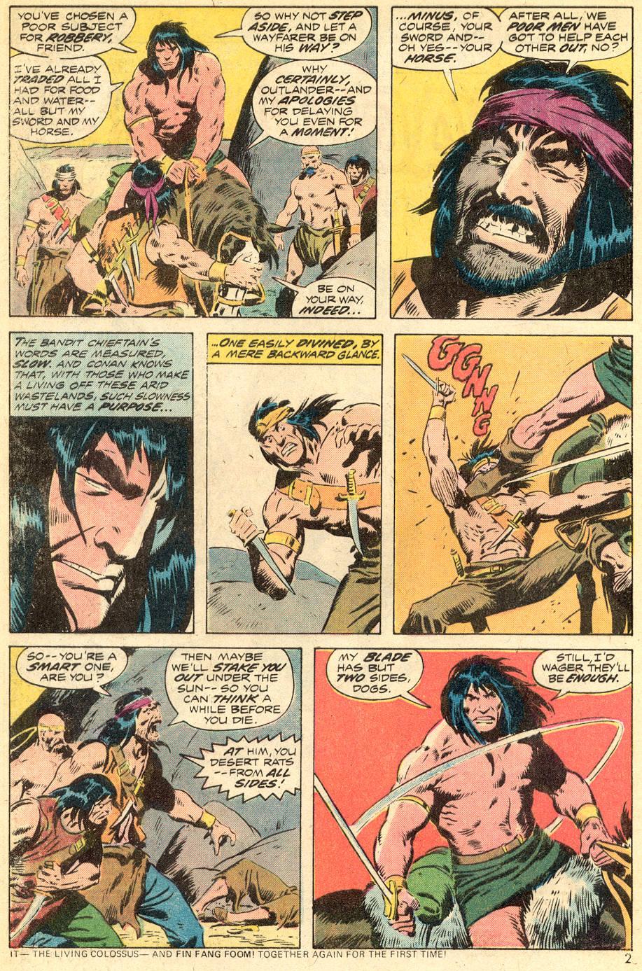 Conan the Barbarian (1970) Issue #39 #51 - English 3