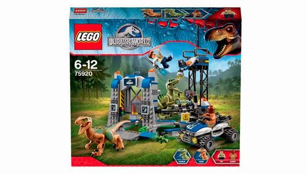 LEGO Ref. 75920 La Huida del Raptor