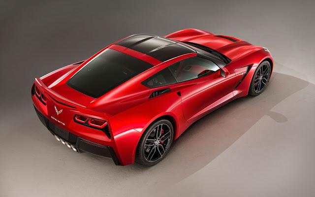 The 2014 Chevrolet Corvette Stingray - Wallpaper back