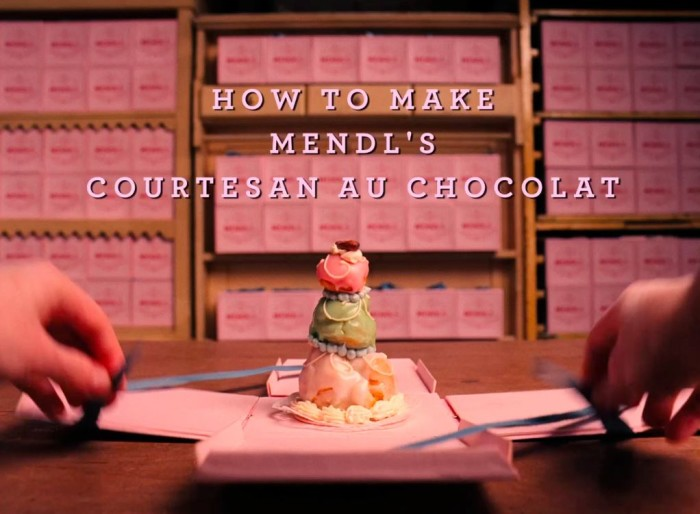 how to make mend's courtesan au chocolate