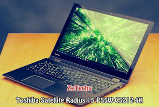 Toshiba Satellite Radius 15 P55W-C5212-4K Review