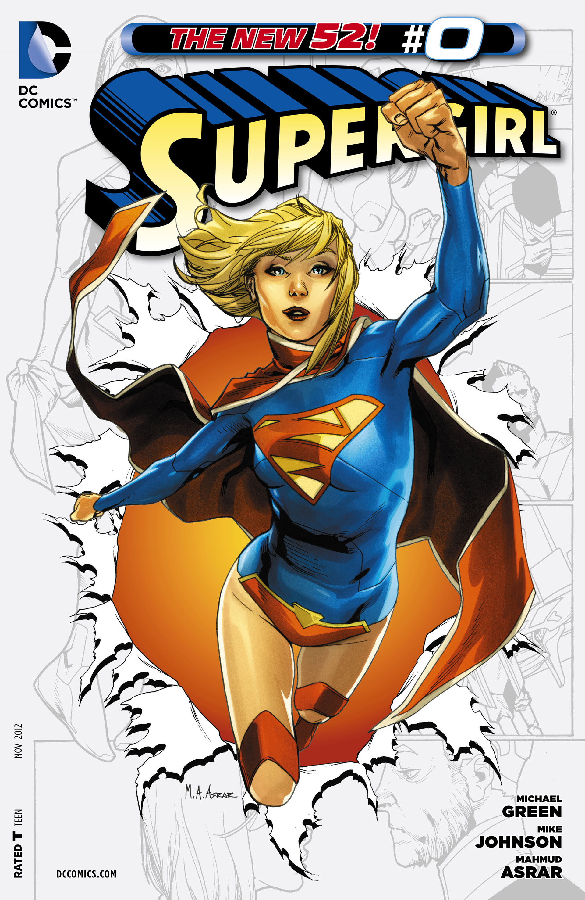 Supergirl (2011) Issue #0 #2 - English 1